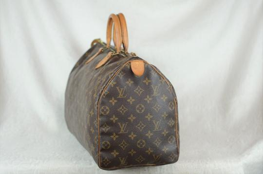 Louis Vuitton Speedy Monogram Canvas Tote in Brown Image 2
