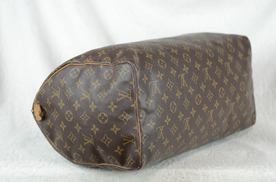 Louis Vuitton Speedy Monogram Canvas Tote in Brown Image 5