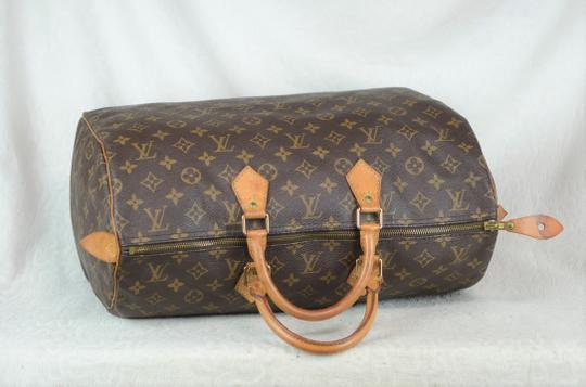Louis Vuitton Speedy Monogram Canvas Tote in Brown Image 7