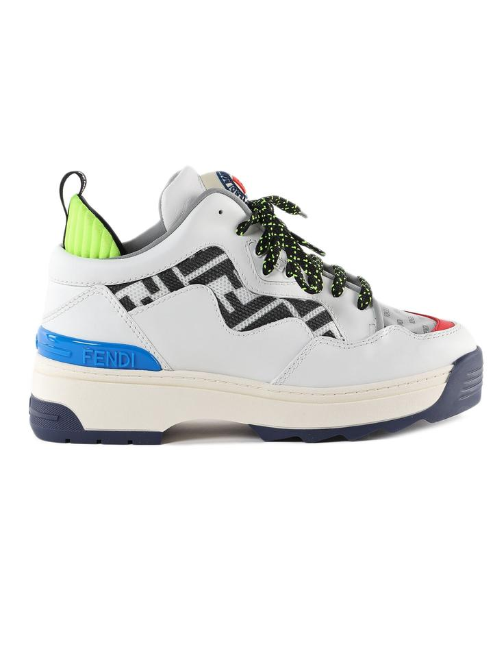 8656dcf0 White In Calf Leather Sneakers
