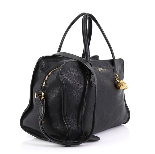 Alexander McQueen Leather Tote in black Image 1