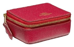 Coach red gold Travel Bag