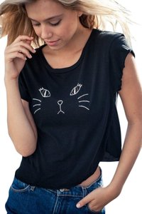 Brandy Melville T Shirt Black