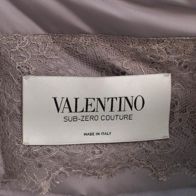 Valentino Gray Short Trim Hood Down Filled Coat Size 4 (S) Valentino Gray Short Trim Hood Down Filled Coat Size 4 (S) Image 7