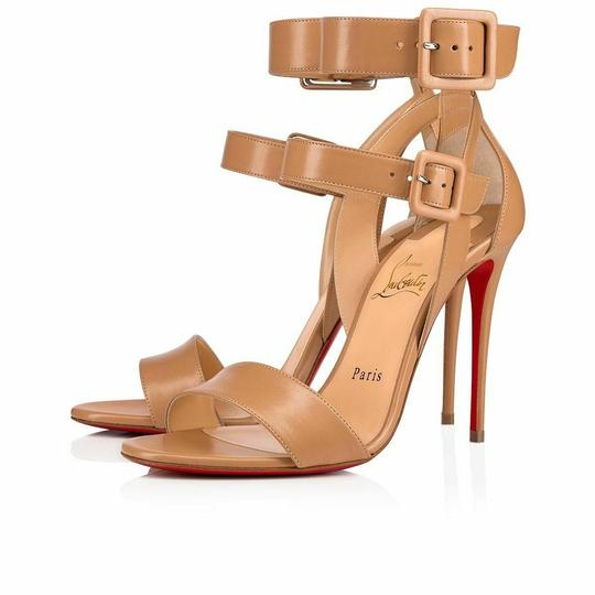 Preload https://img-static.tradesy.com/item/25628084/christian-louboutin-beige-multipot-100-nude-leather-2x-buckle-ankle-strap-classic-pumps-size-eu-395-0-0-540-540.jpg
