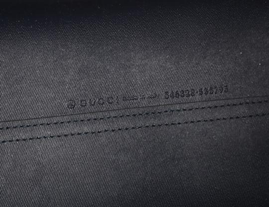 Gucci Canvas Leather Tote in Blue Image 8