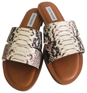 Steve Madden Natural snake print Sandals