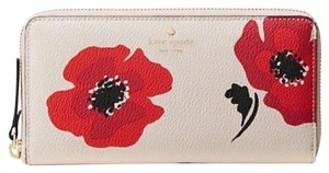 Kate Spade Kate Spade Hyde Lane Poppy Michele Zip Around Wallet