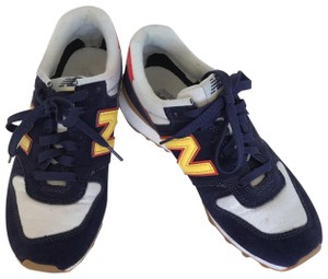 New Balance blue/red/yellow Athletic