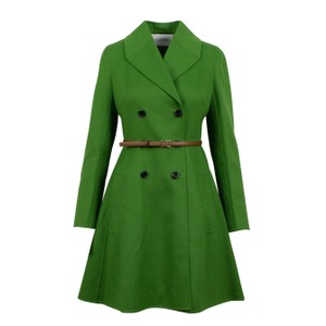 Valentino Wool Belted Double Breasted Winter Pea Coat