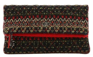 Chanel Tweed multicolored Clutch