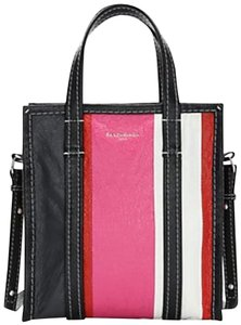 Balenciaga Shopper Crossbody Tote in Black