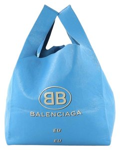 Balenciaga Supermarket Leather Shoulder Bag