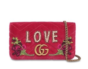 Gucci Pearl Love Cross Body Bag