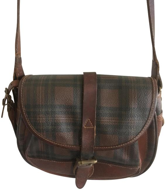 Item - Vintage Collection Plaid Red Calfskin Leather Cross Body Bag