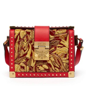 MCM red Messenger Bag