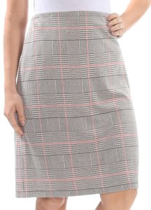 Nine West Plus Business Work Skirt Grey