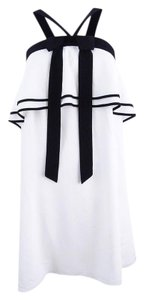 CeCe by Cynthia Steffe short dress White and Black on Tradesy