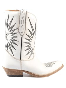 Golden Goose Deluxe Brand G34ws781.a2 White Boots