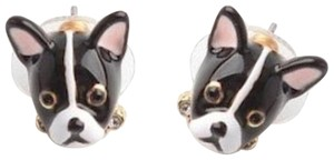 Kate Spade KATE SPADE Ma Cherie Antoine French Bull Dog Stud Earrings