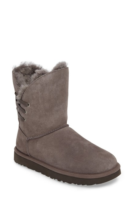 Item - Gray Constantine Short Suede Shearling Boots/Booties Size US 11 Regular (M, B)