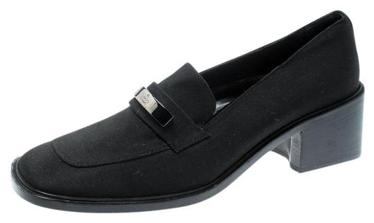 Preload https://img-static.tradesy.com/item/25632720/gucci-black-canvas-buckle-detail-loafers-pumps-size-eu-40-approx-us-10-regular-m-b-0-1-540-540.jpg