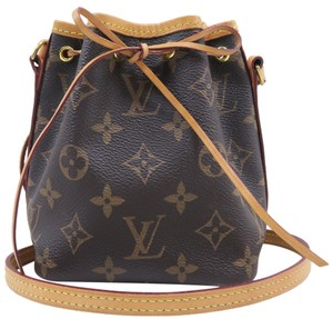 ea95fd391 Louis Vuitton Lv Noe Nano Monogram Canvas Cross Body Bag