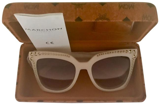 Item - Pink Cat Eye with Case Sunglasses