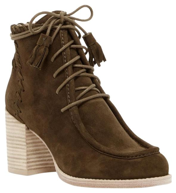 Item - Olive Suede Wallawalla Ankle Boots/Booties Size US 5 Regular (M, B)
