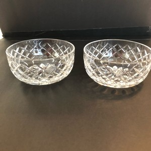 Cartier Crystal Bowls