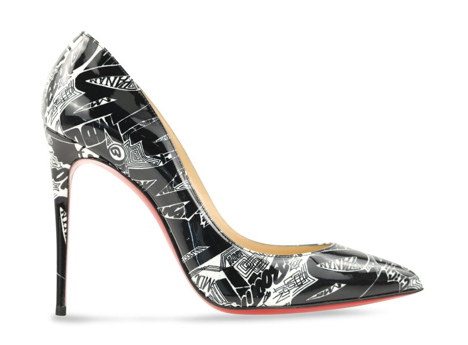finest selection 9bac9 1b561 Christian Louboutin Multicolor Pigalle Follies 100mm Patent Leather  Nicograf Pumps Size EU 38 (Approx. US 8) Regular (M, B) 32% off retail