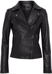 Muubaa Designer London Leather Jacket