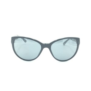 Chanel Chanel Black & Silver Chained Cat Eyed Sunglasses 5215-Q 501/26