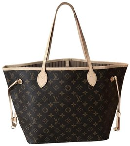 Louis Vuitton Neverfull Tote in Monogram Canvas