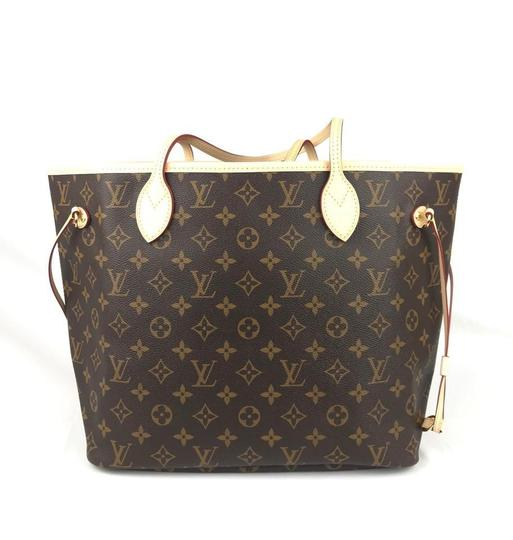 Louis Vuitton Neverfull Tote in Monogram Canvas Image 2