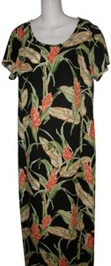 Floral Maxi Dress by Hilo Hattie Hawaiian Tropical