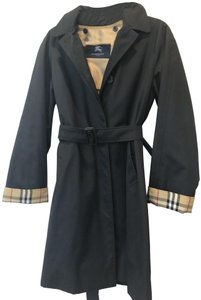 Burberry London Removable Wool Liner Raincoat