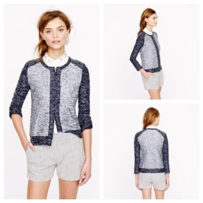 Item - Blue & Gray XS Boucle In Indigo Jacket Size 2 (XS)