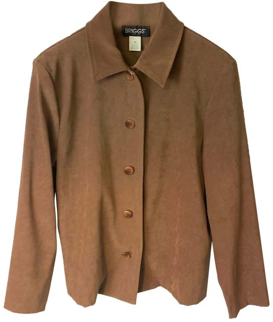 Item - Brown 102803 Cardigan Size Petite 8 (M)