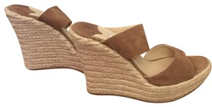Jimmy Choo Nude/light brown Wedges