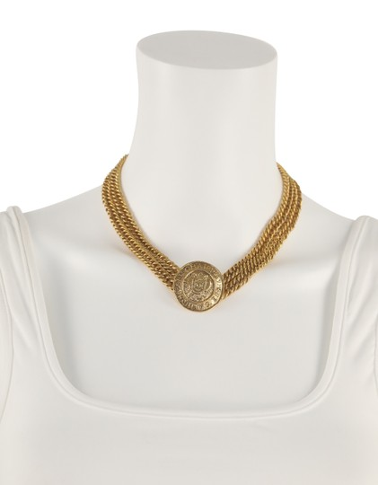 Chanel Medallion Charm Double Chain Image 10