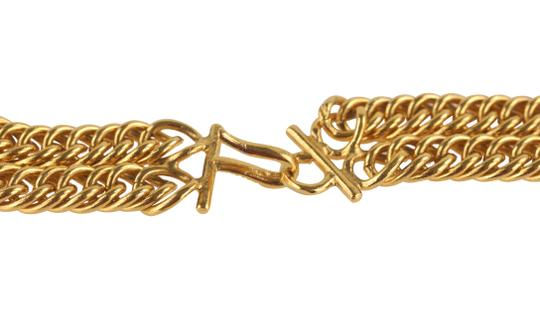 Chanel Medallion Charm Double Chain Image 8