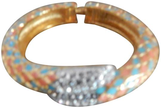 Preload https://img-static.tradesy.com/item/25636164/kenneth-jay-lane-gold-coral-and-turquoise-enamel-snake-by-pass-bracelet-0-1-540-540.jpg