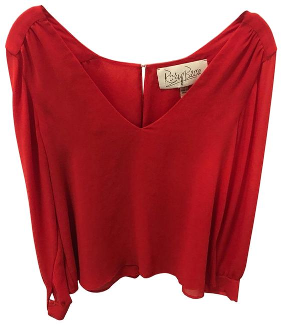 Item - Red Blouse Size 4 (S)