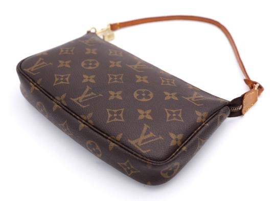 Louis Vuitton Vintage Monogram Clutch Image 10