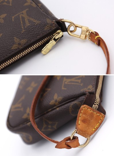 Louis Vuitton Vintage Monogram Clutch Image 6