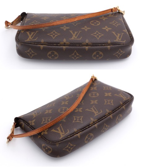 Louis Vuitton Vintage Monogram Clutch Image 8