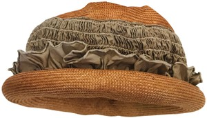 Anthropologie Laurel Fenenga San Francisco Straw Hat