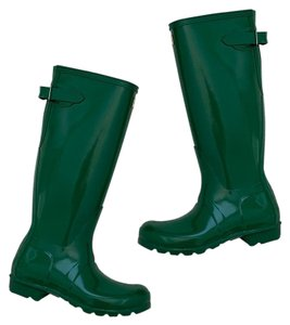 Hunter hyper green Boots