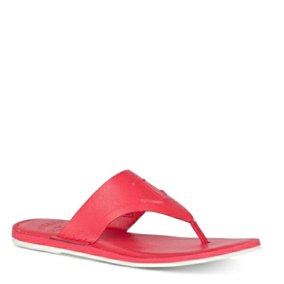 exquisite design luxury fashion shop for official Coral Nautical Anchor Sandals